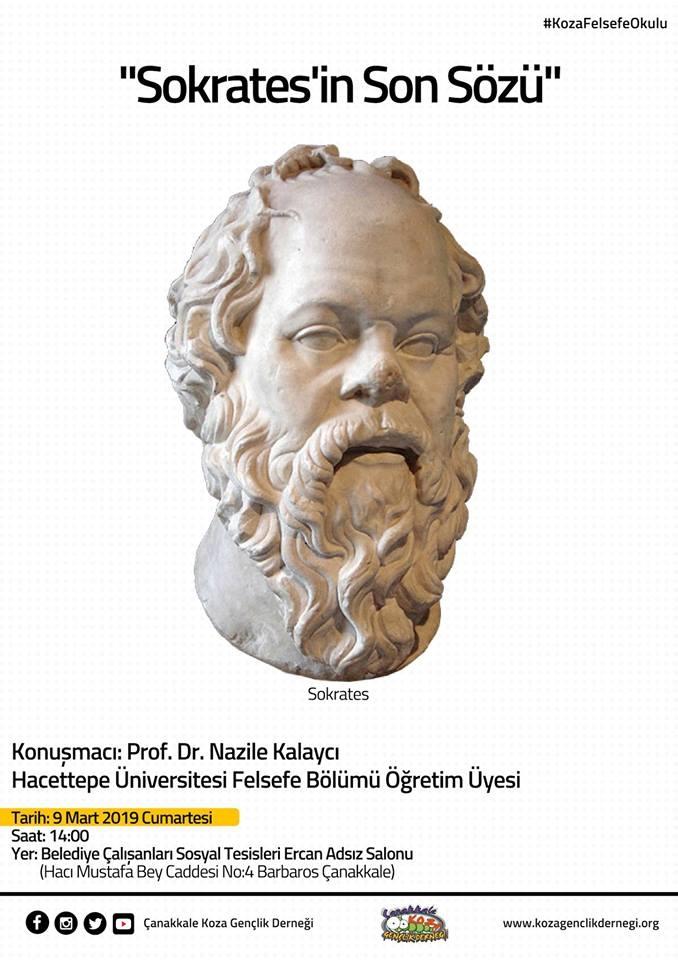 "Koza Felsefe Okulu: ""Sokrates'in Son Sözü"""