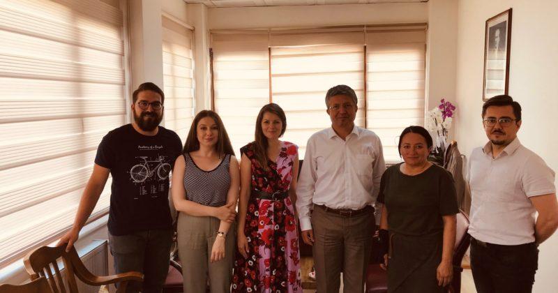Çanakkale Koza Gençlik Derneği Çanakkale Belediyesi Ziyareti 2